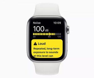 noise app در WatchOS 6