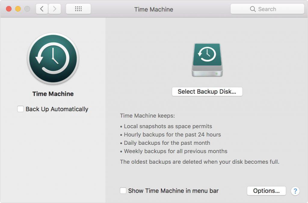 آموزش استفاده از تایم ماشین - Time Machine بکاپ مک