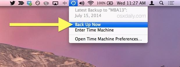 آموزش استفاده از Time Machine برای بکاپ از مک