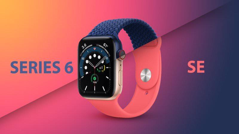 مقایسه اپل واچ نسل ۶ با اپل واچ SE