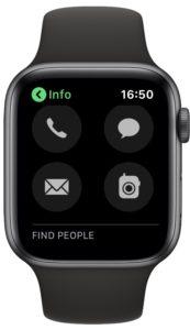 برقراری تماس با اپل واچ