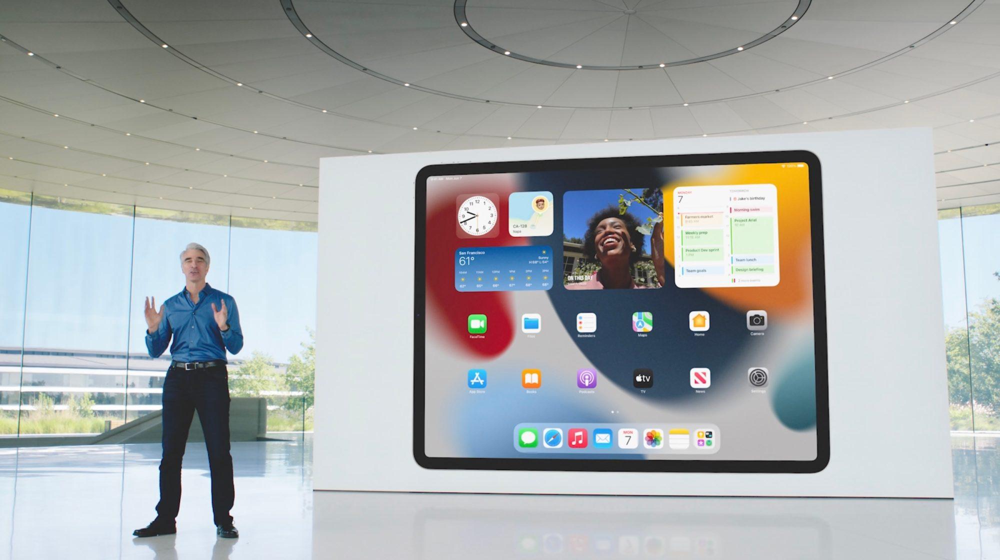 آیپدهایی که از iPadOS 15 پشتیبانی میکنند
