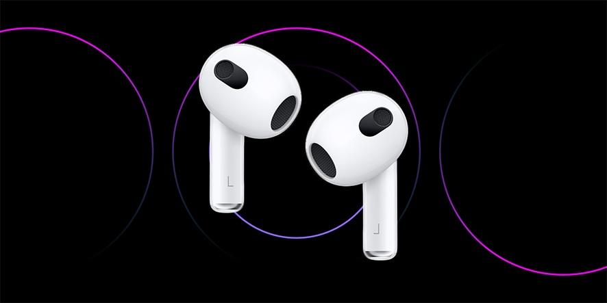 ایرپاد نسل 3 با پشتیبانی از spatial audio و طراحی جدید معرفی شد